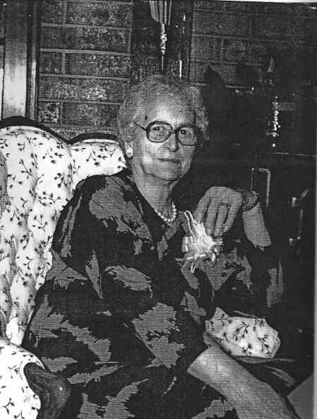 My grandmother - Edna Hall Hedrick Golden - in her later years.