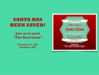 "Grassroots Effort to ""Save Santa"" Wins!"
