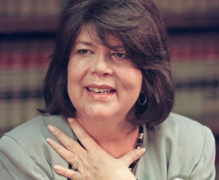 Former Chief of the Cherokee Nation, Wilma Mankiller