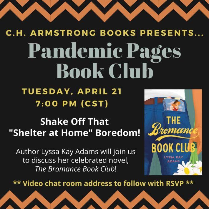 PandemicPagesBookClub